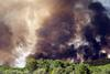 Incendio forestal en la provincia de Ávila